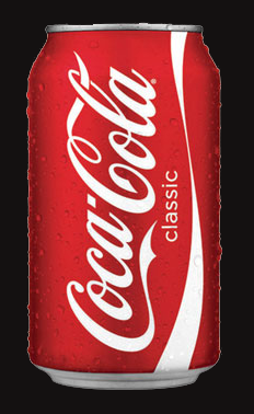A can of Coca-Cola